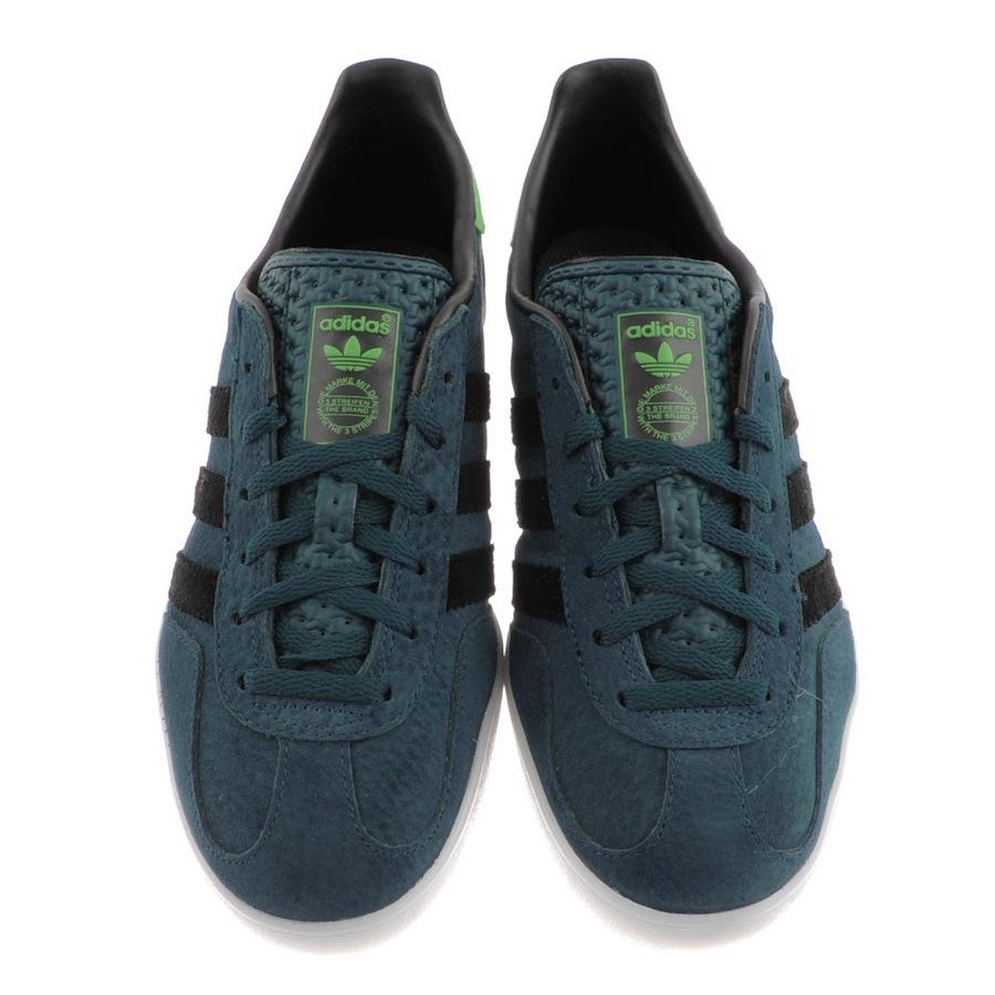 Adidas Gazelle Indoor Dark Petrol Real Green Black