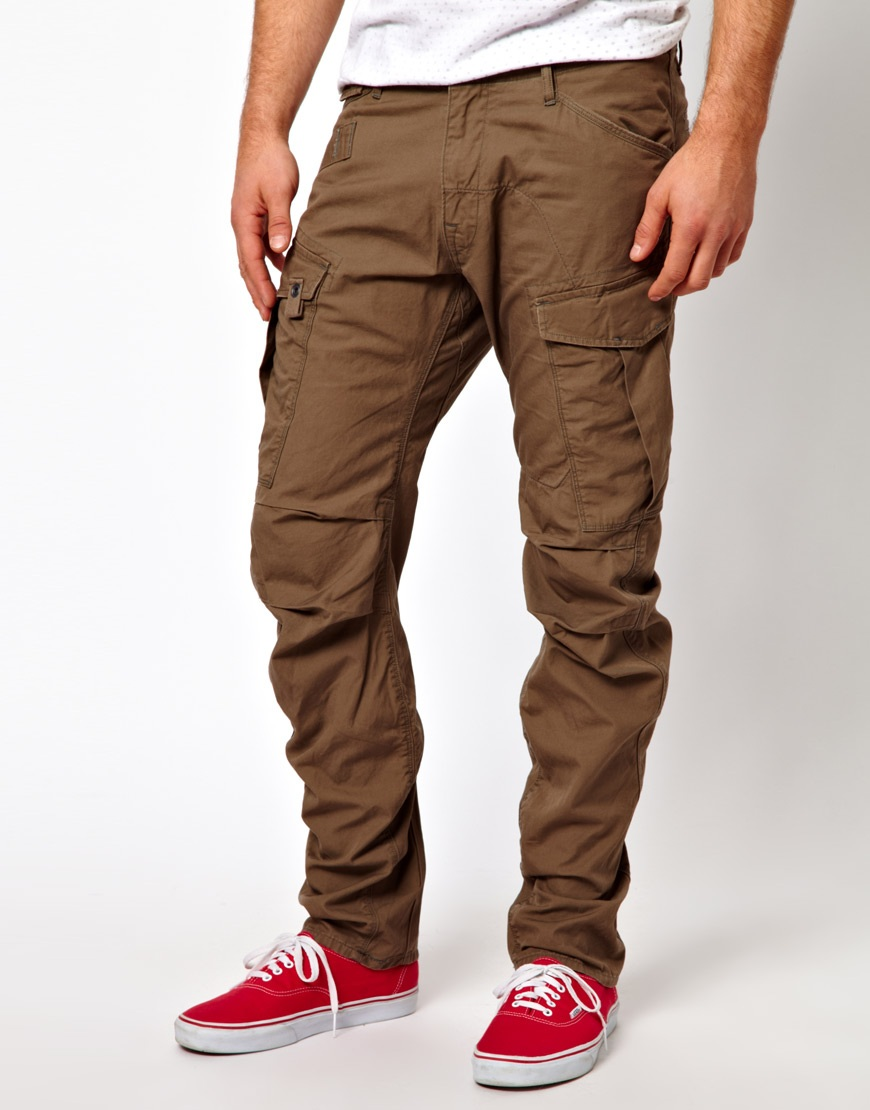 Cheap monday G Star Cargo Pants Rovic 3d Loose Tapered Field Twill ...