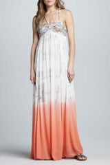 Free People Snake Goddess Maxi Dress - Lyst