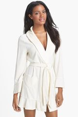 Juicy Couture Velour Robe - Lyst
