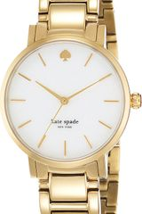 Kate Spade Gramercy Stainless Steel Watch - Lyst