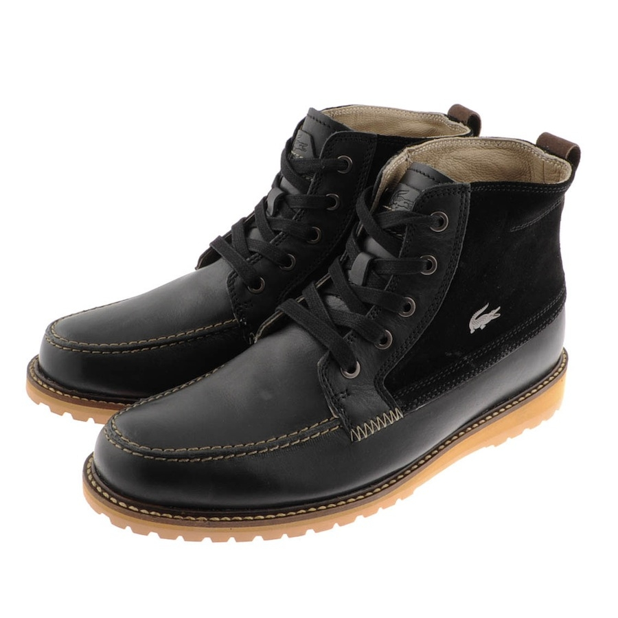 For Boots Black Lacoste Marceau Men In Lyst I554q