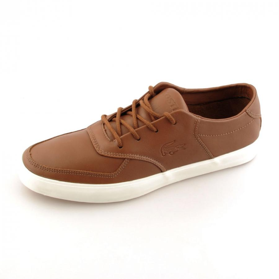 quality design 457df fb57c Lacoste Glendon 3 Srm Trainers in Brown for Men - Lyst