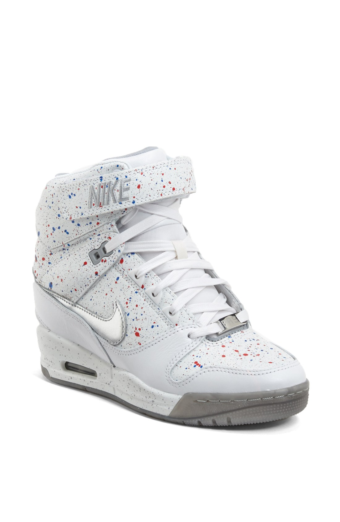... nike air revolution sky high sneakers white ... 0ff045da8