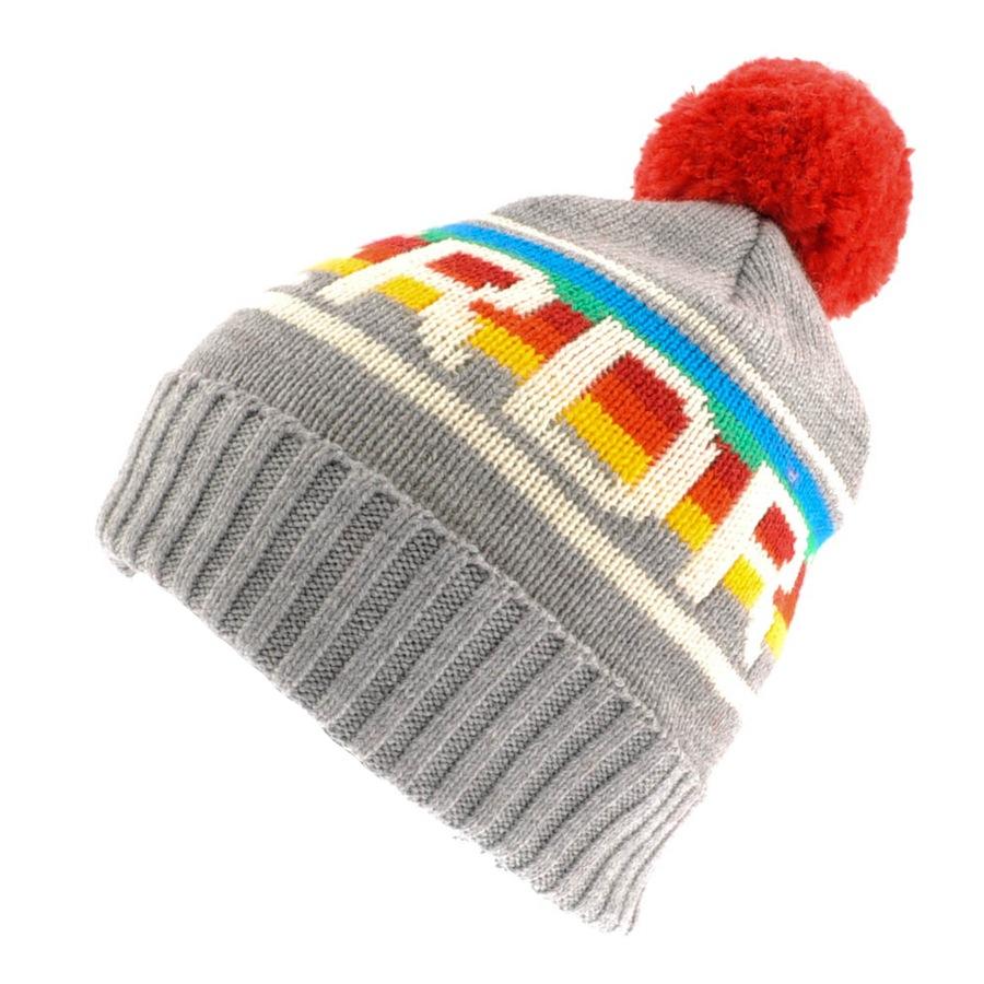 6b1e4640958 Lyst - Superdry Vtg Logo Rainbow Beanie Hat Grit in Gray for Men