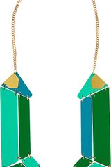 Tatty Devine Jewel Cut Statement Perspex Necklace - Lyst