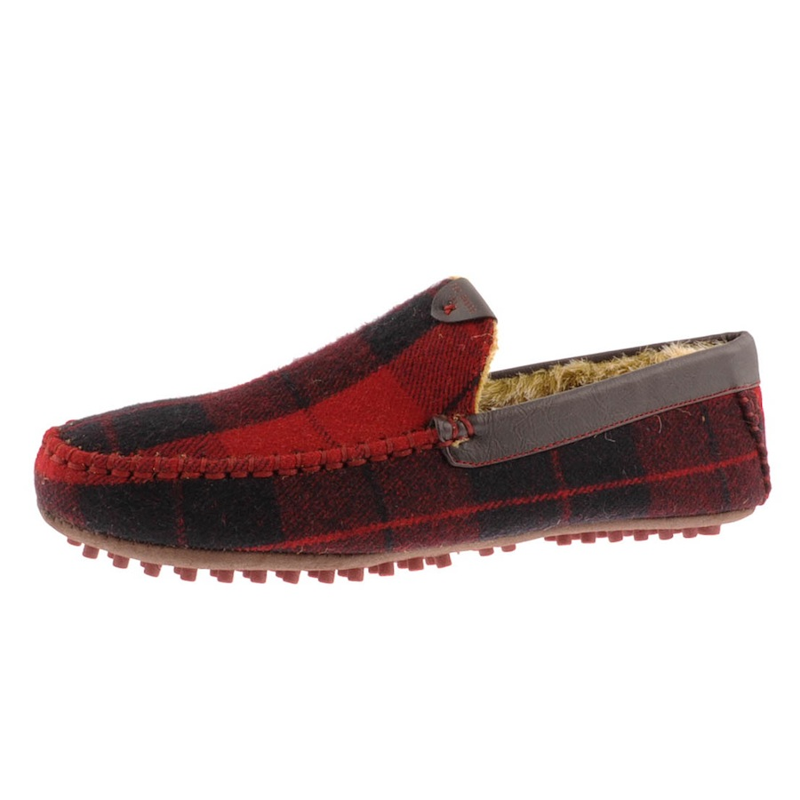a31cca72e Lyst - Ted Baker Carota 3 Text Slippers in Red for Men