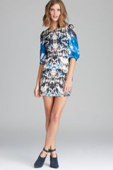 Twelfth Street by Cynthia Vincent Dress Sequin Printed - Lyst