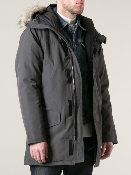 canada goose 39 langford 39 parka in gray for men grey lyst. Black Bedroom Furniture Sets. Home Design Ideas