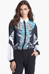 Clover Canyon All That Jazz Print Blouse - Lyst