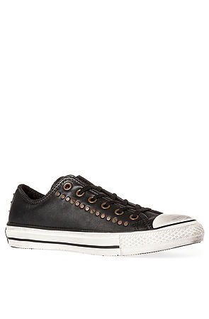 Lyst - Converse The Chuck Taylor All Star Studded Sneaker in Black 119176575