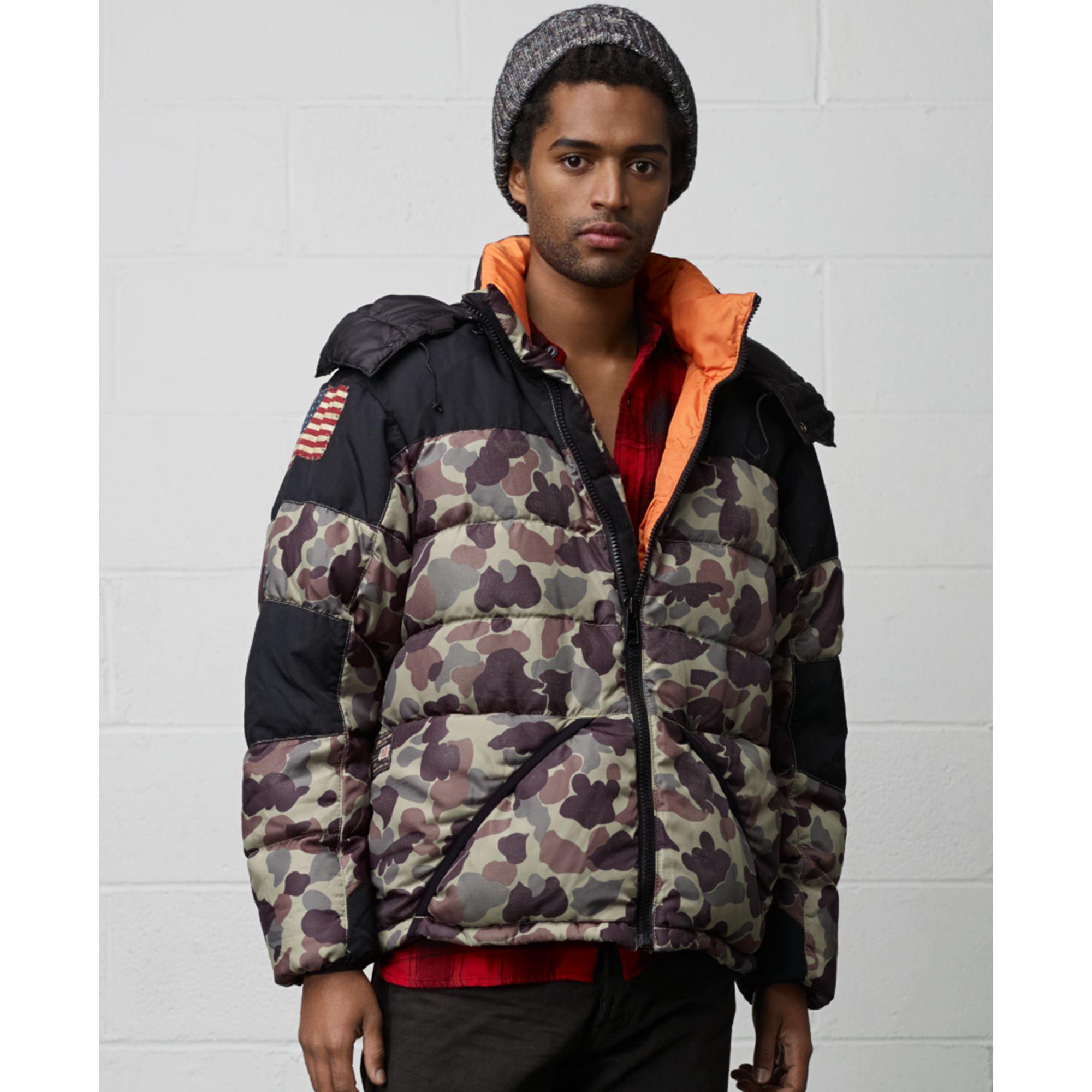 0cc5ab2c2a367 Denim & Supply Ralph Lauren Camo Expedition Down Jacket for Men - Lyst