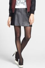 DKNY Hosiery Opaque Tights - Lyst