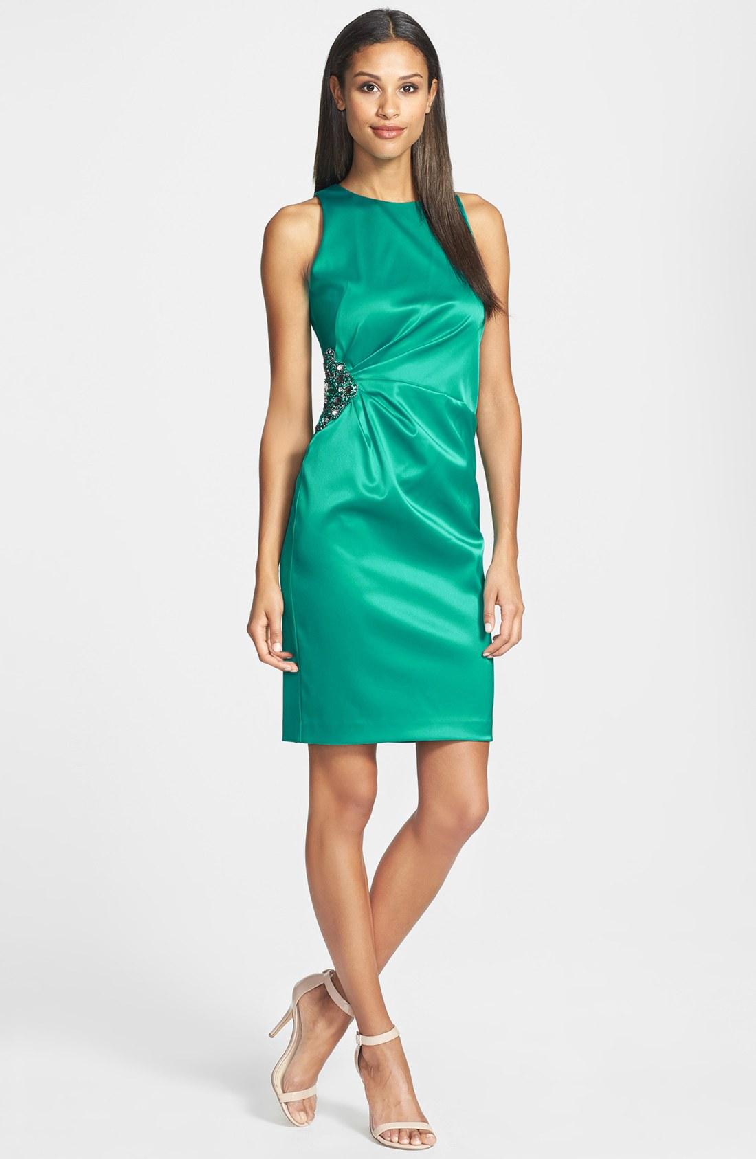 Galerry sheath maxi dress