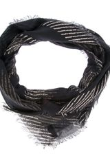 Golden Goose Deluxe Brand Striped Scarf - Lyst