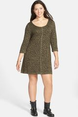 Jessica Simpson Rudy Leopard Print Dress - Lyst