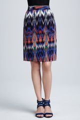 M Missoni Abstract Ikat Pencil Skirt - Lyst