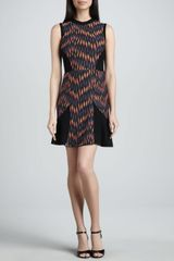 M Missoni Broken Zigzag Sleeveless Dress - Lyst