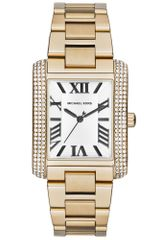 Michael Kors Women's Emery Gold-Tone Stainless Steel Bracelet Watch 40x31mm - Lyst