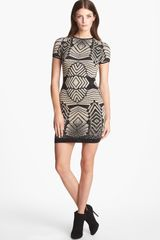 Presley Skye Bodycon Sweater Dress - Lyst