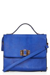 Topshop Margot Carryall Satchel - Lyst