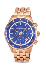 Vince Camuto The Apollo Blue Dial Watch 38mm - Lyst
