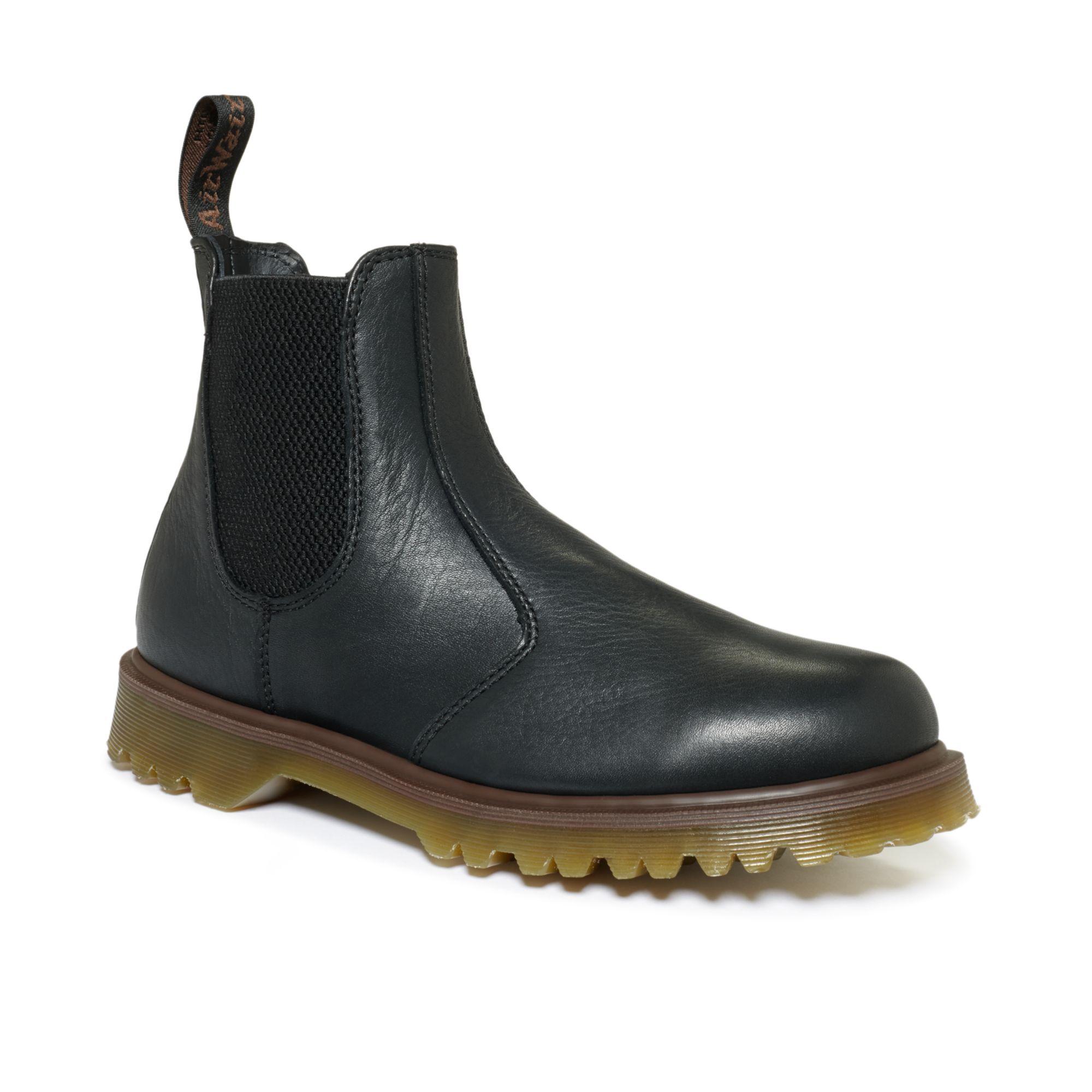 dr martens chelsea boots in black for men lyst. Black Bedroom Furniture Sets. Home Design Ideas