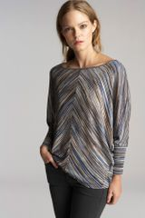 Graham & Spencer Rylee Ombre Space Dye Knit Dolman Top - Lyst