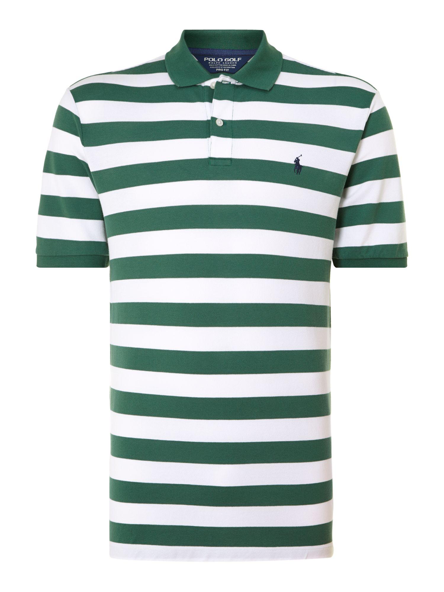 Ralph Lauren Golf Classic Block Striped Polo Shirt in ...