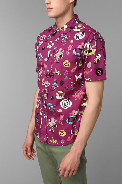 Purple Story Time Story Time Buttondown