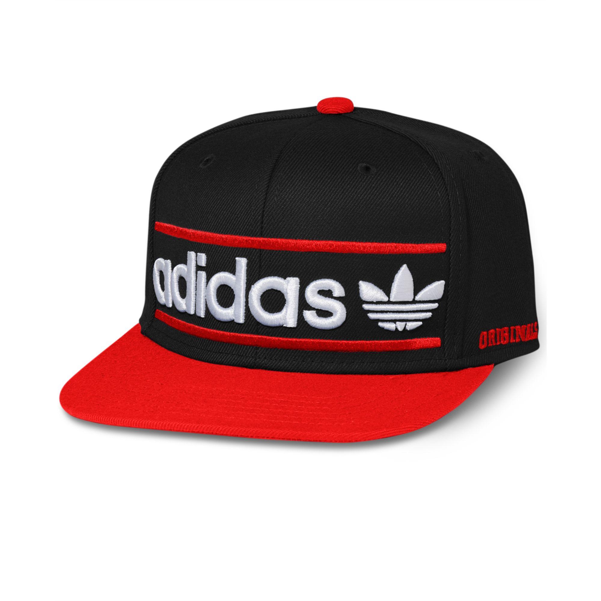Adidas Adi Originals Heritage Snapback Cap in Black for ...