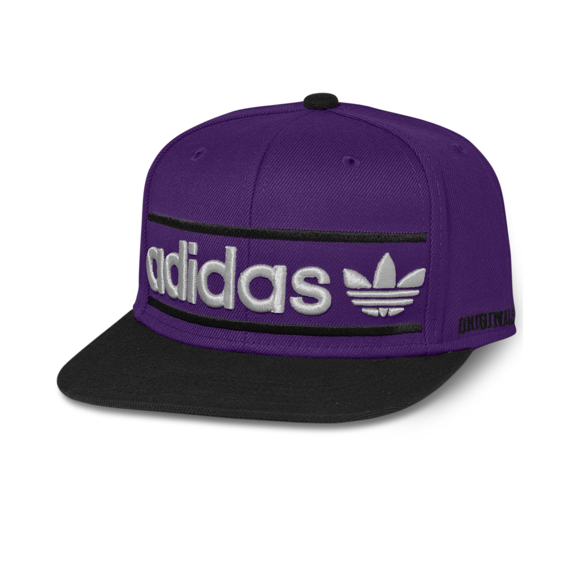 Lyst - adidas Adi Originals Heritage Snapback Cap in Purple for Men 9d3e91bd141