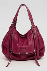 Kooba Jonnie Hobo Bag Wine - Lyst