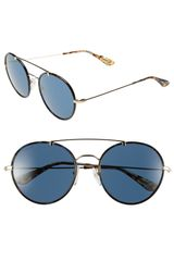 Prada 54mm Retro Sunglasses - Lyst