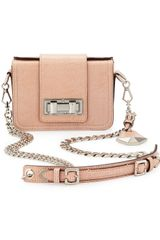 Rebecca Minkoff Mini Lizardembossed Box Shoulder Bag - Lyst
