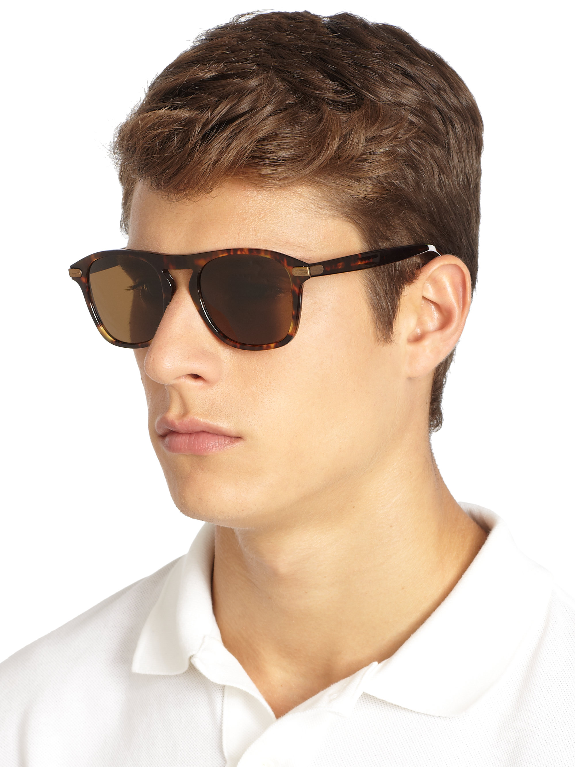 brown wayfarer sunglasses jb93  Gallery