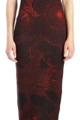 Christopher Kane Sleeveless Long Body Con Dress - Lyst