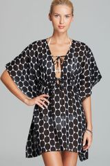 Echo Malibu Dot Swim Coverup - Lyst