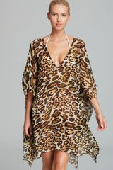 Echo Safari Swim Coverup Caftan - Lyst