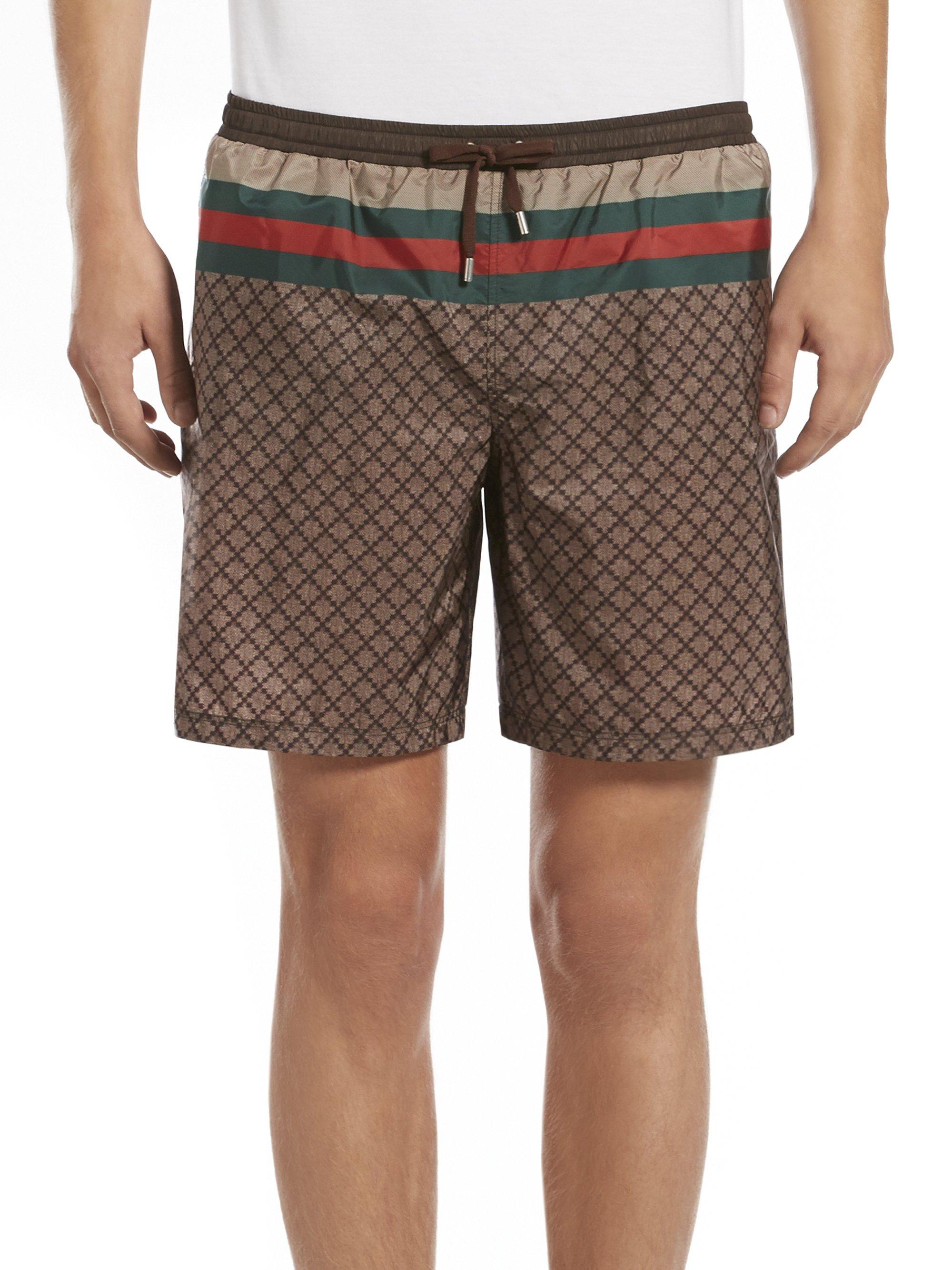 Mens Khaki Swim Shorts Hardon Clothes