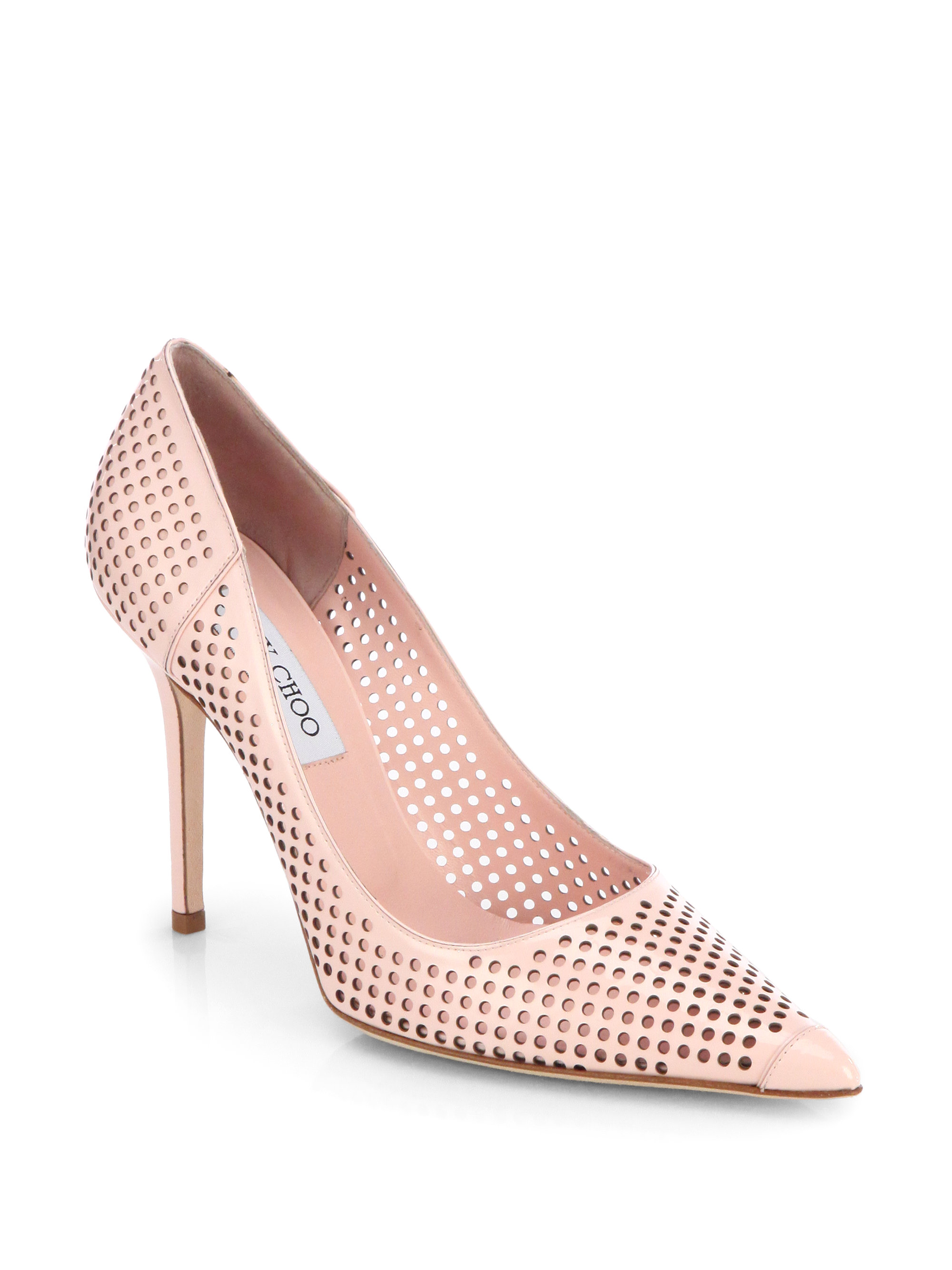 best store to get online Jimmy Choo Perforated Patent Leather Pumps cheap sale footlocker finishline shop for sale exclusive cheap price newest cheap price MQewvew3Bs