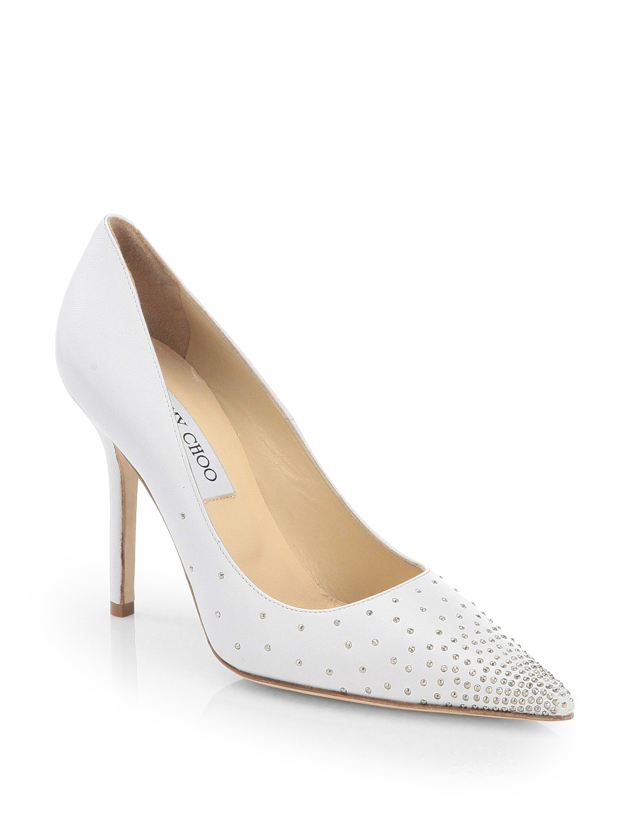 e64753f9160 czech jimmy choo studded pumps 26737 c7ff1