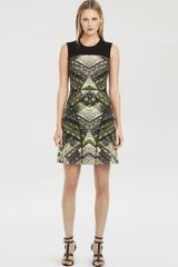 Kenneth Cole Tessa Print Dress - Lyst