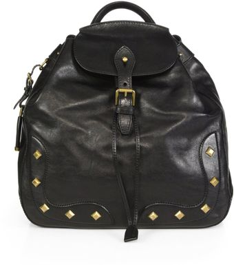 Ralph Lauren Collection Vintage Studded Backpack - Lyst