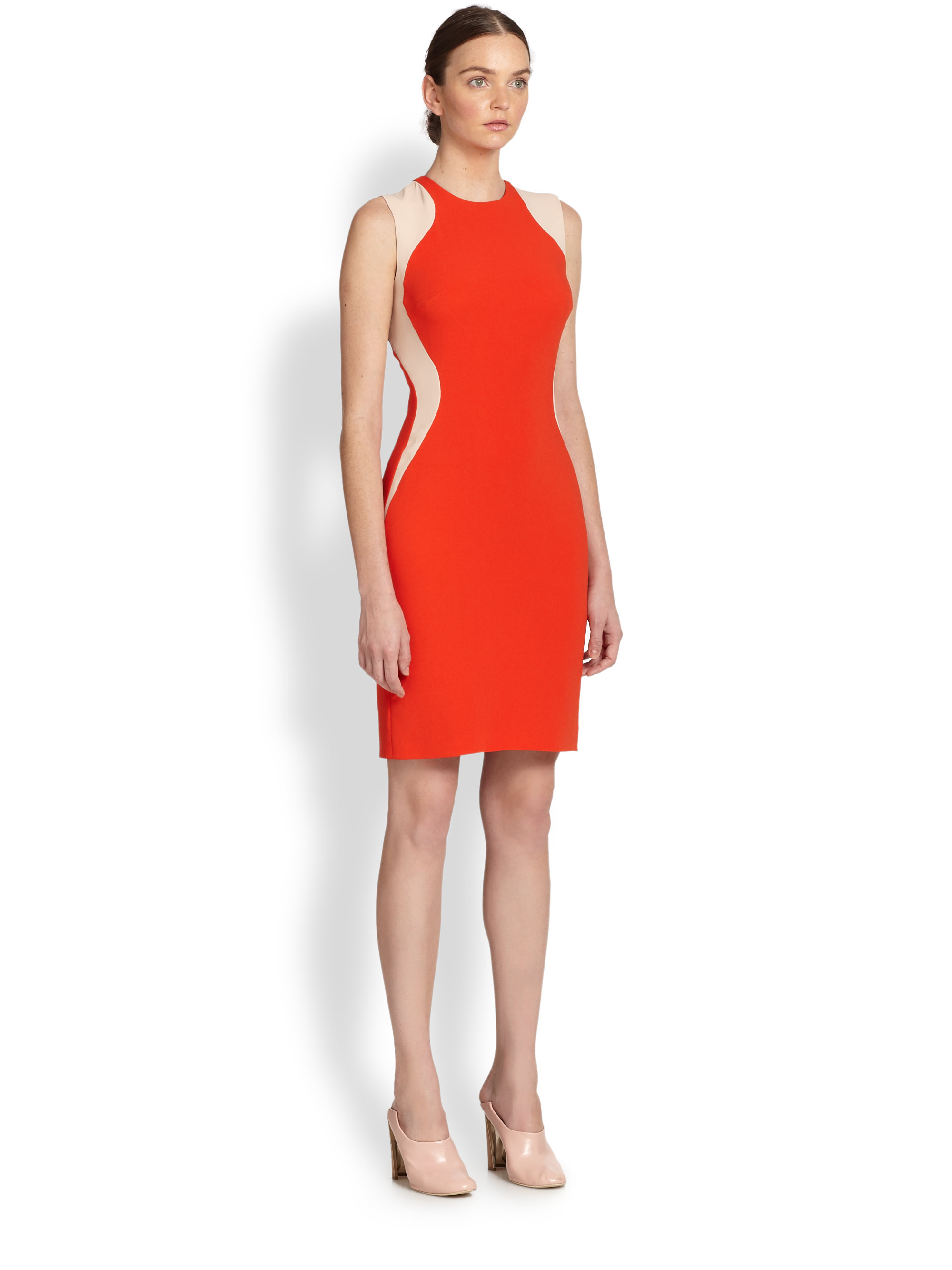 Stella McCartney Orange Dress
