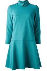Tara Jarmon Flared Shirt Dress - Lyst