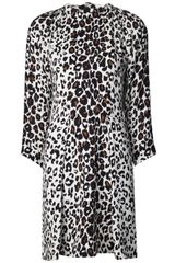 A.L.C. Leopard Print Dress - Lyst