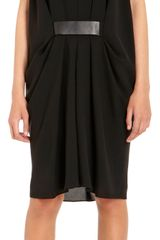 Alexander Wang Belted Short Sleeve Dress - Lyst