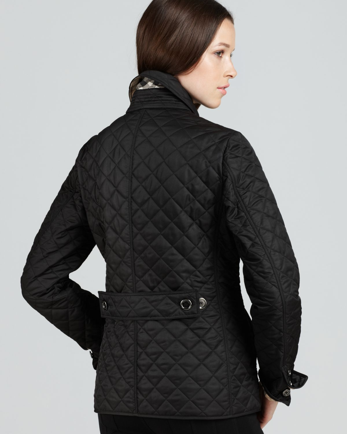Burberry Brit Copford Quilted Jacket In Black Lyst