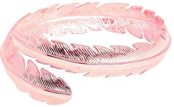 CC Skye Feather Bangle - Lyst